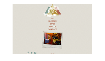 Faik Official Website